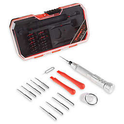 Stalwart® 15-Piece Electronic Repair Tech Tool Kit in Red