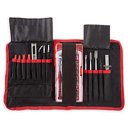 Stalwart® 70-Piece Electronic Repair Tech Tool Kit in Red/Black
