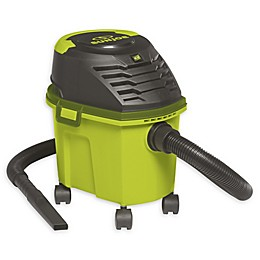 Sun Joe® SWD2500 Bagless Wet/Dry Vacuum in Green