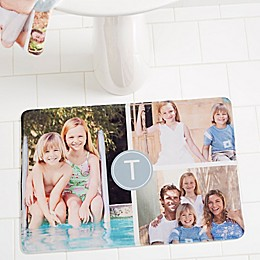Photo Collage Memory Foam Bath Mat