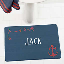 Nautical Memory Foam Bath Mat