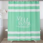 Wedded Pair Shower Curtain