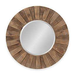 Kate and Laurel Monteiro Sunburst 30-Inch Round Mirror