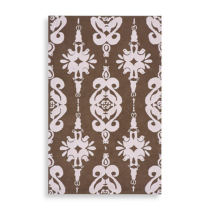 Alternate image 1 for Momeni 'Lil Mo Classic LMI-01 Area Rug in Soft Pink