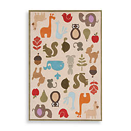 Momeni 'Lil Mo Whimsy LMJ-2 Area Rug in Ivory