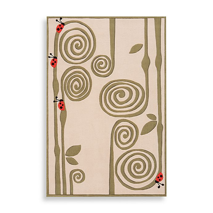 Alternate image 1 for Momeni 'Lil Mo Whimsy LMJ-3 Area Rug in Ivory
