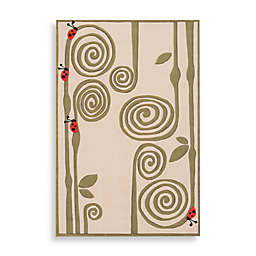 Momeni 'Lil Mo Whimsy LMJ-3 Area Rug in Ivory