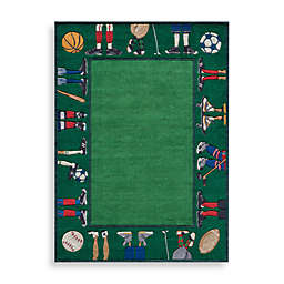 Momeni 'Lil Mo Whimsy LMJ-9 Grass Area Rug