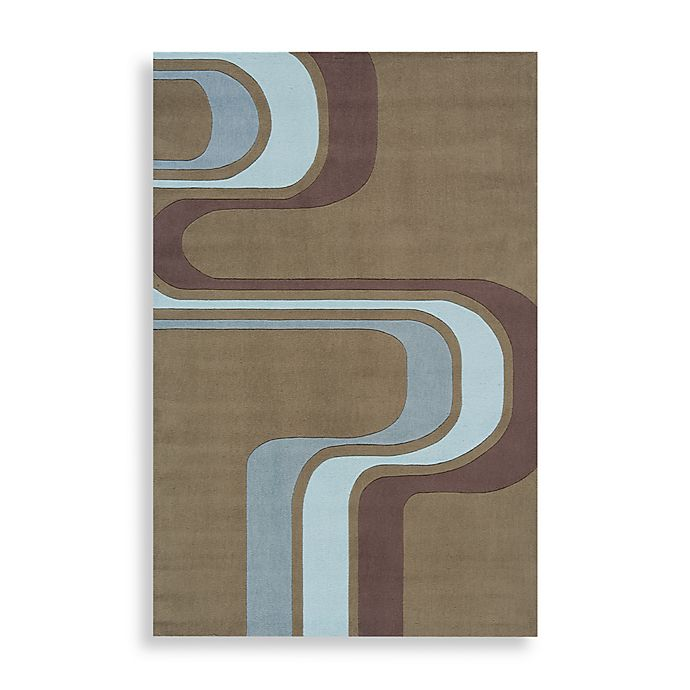Alternate image 1 for Momeni 'Lil Mo Hipster LMT-2 Area Rug in Army Green