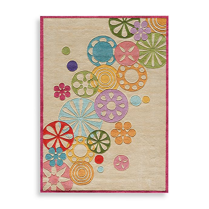 Alternate image 1 for Momeni 'Lil Mo Hipster LMT-8 Area Rug in Ivory
