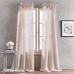 Sheer Curtains Hanging Style Tie Top Bed Bath Beyond