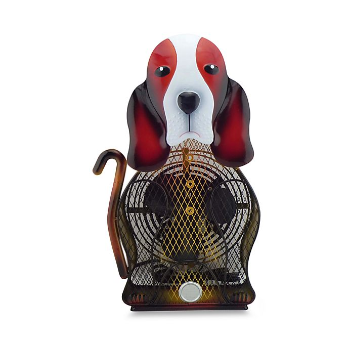 Himalayan Breeze Large Basset Hound Table Fan Bed Bath