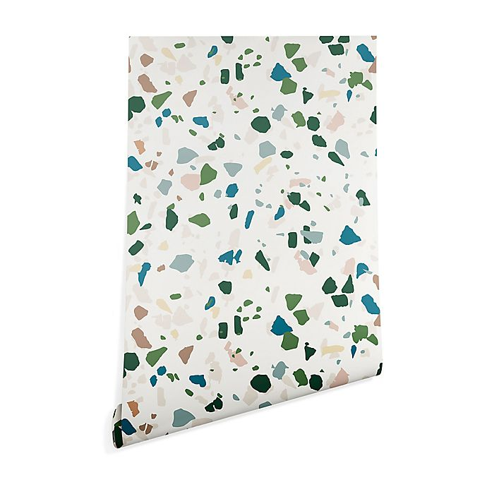 Alternate image 1 for Deny Designs® Holli Zollinger Terrazzo Peel and Stick Wallpaper