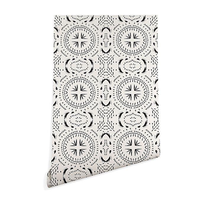 Alternate image 1 for Deny Designs Holli Zollinger Mandala Tile Light Peel & Stick Wallpaper