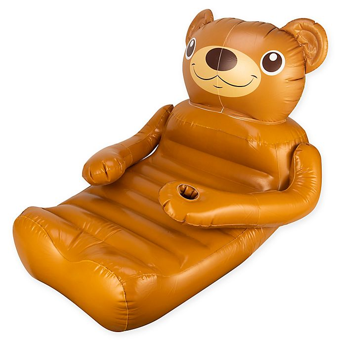 Alternate image 1 for SwimWays® Huggable Bear Pool Float