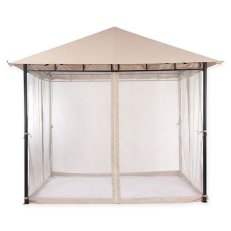 Destination Summer Gazebo In Sand Bed Bath Amp Beyond