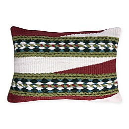 Destination Summer Spicy Woven Oblong Indoor/Outdoor Throw Pillow