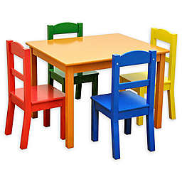 American Kids 5-Piece Table and Chair Set