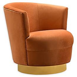 TOV Furniture™ Velvet Swivel Noah Chair