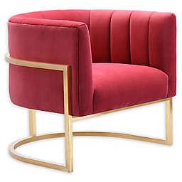 TOV  Furniture™ Velvet Upholstered Magnolia Chair