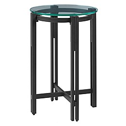 Madison Park Signature Soyona End Table in Black