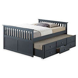 Broyhill® Kids Marco Island Full Captain's Bed with Trundle and Drawers