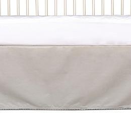 Living Textiles Pom-Pom Crib Skirt