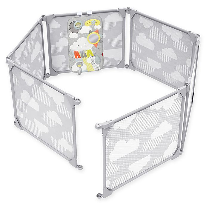 Alternate image 1 for SKIP*HOP® Playview Expandable Enclosure in Grey