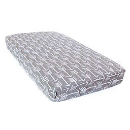 Bambella Designs Arrows LUX Mattress Protector in Grey