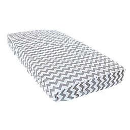Bambella Designs LUX Chevron Crib Mattress Protector