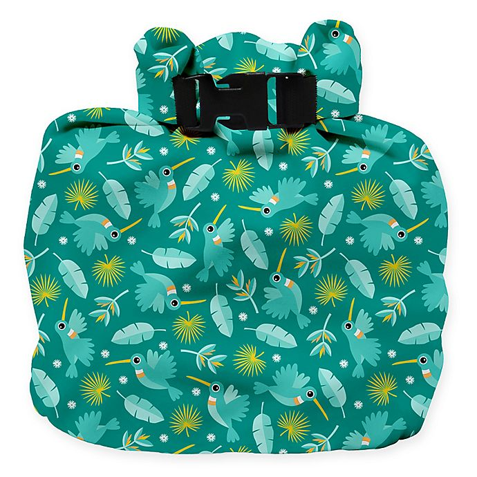 Alternate image 1 for Bambino Mio® Hummingbird Wet Diaper Bag
