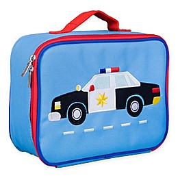 Wildkin Police Car Lunch Box in Blue