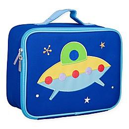 Wildkin Spaceship Lunch Box in Blue