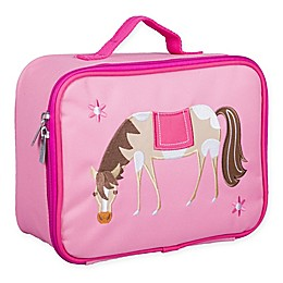 Wildkin Embroidered Horse Lunch Box in Pink