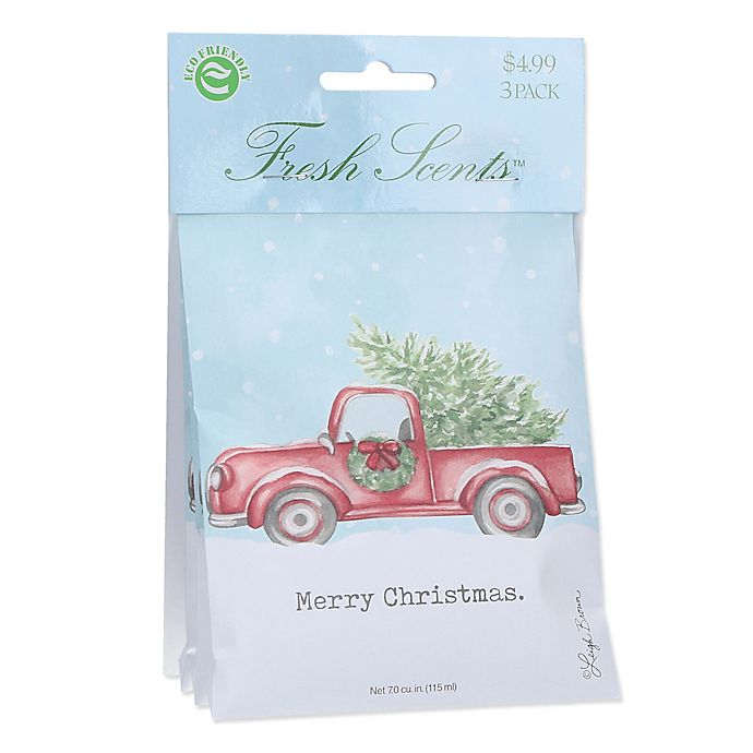 Willowbrook Fresh Scents 3 Pack Merry Christmas Sachets