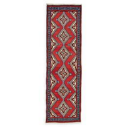 Feizy Rugs One of a Kind Antique Mousel 2'8 x 9'2 Runner in Red