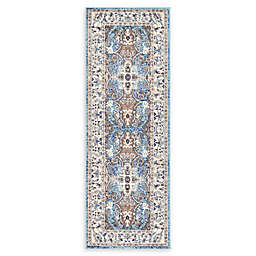 Nomad 2'2 x 6' Runner in Light Blue