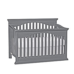 Suite Bebe Bailey 4-in-1 Convertible Crib in Grey