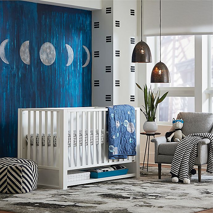 Alternate image 1 for BassettBaby® Premier Destin Nursery Furniture Collection in White