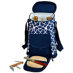 Picnic at Ascot Insulated Wine Tote with Cheese Set