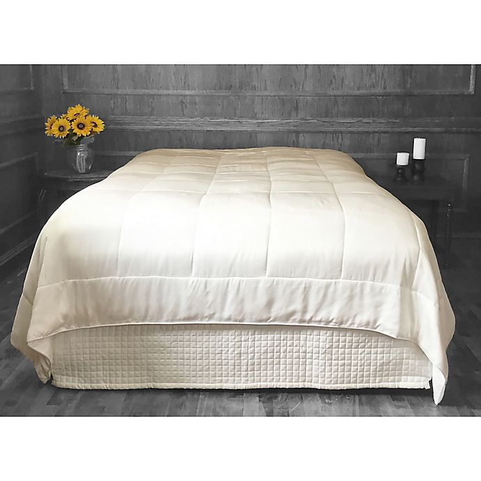 Alternate image 1 for Natural Home Bamboo-Filled Duvet with Rayon from Bamboo Cover