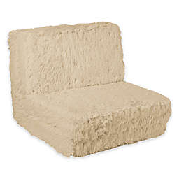 Urban Shop Faux Fur Upholstered Chair