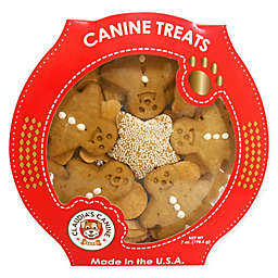 Claudia's Canine Bakery 7 oz. Gingerbread Treat Platter