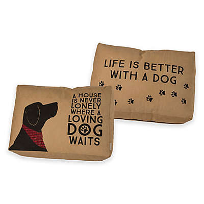 Primitives by Kathy® Loving Dog Large Pet Bed