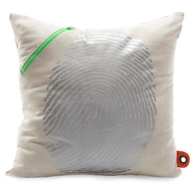 Mimish® Scientist Square Storage Throw Pillow with Pocket