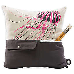 Mimish Naturalist Pocket Throw Pillow