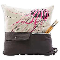 Mimish Naturalist Pocket Throw Pillow