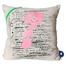 Mimish Scientist Square Pocket Throw Pillow