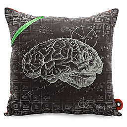 Mimish Scientist Square Pocket Throw Pillow