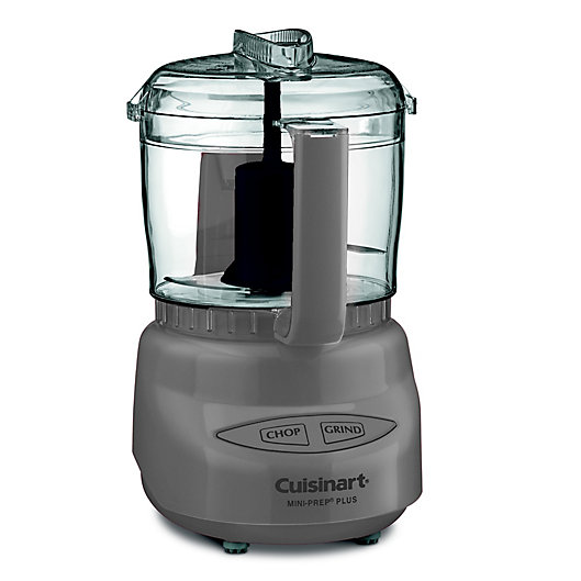 Alternate image 1 for Cuisinart® Serenity 3-Cup Mini-Prep Plus Processor in Monument Grey